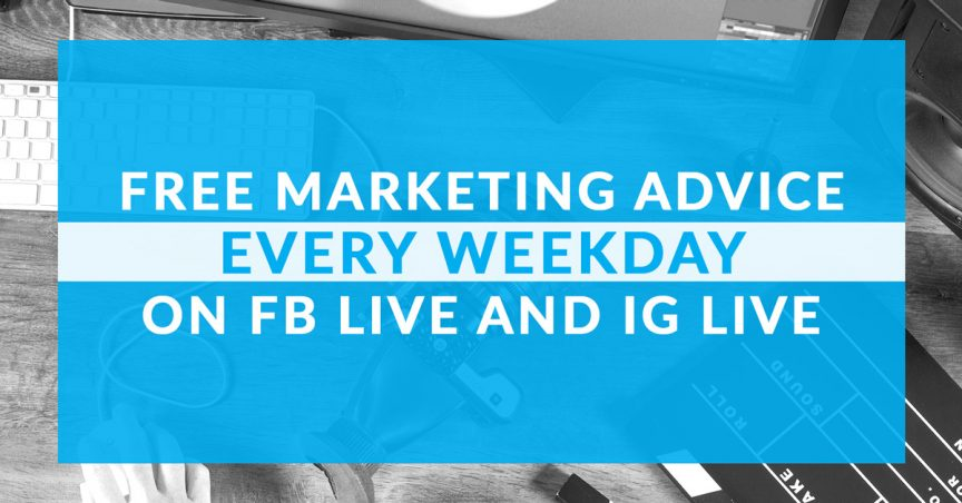 Free Marketing Tips on Facebook Instagram Live | WebbyUp Digital Marketing | Fort Lauderdale Miami | 1200
